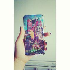 """Mmm #newskin #phone #case #NY #streetart #graffiti #love"" http://www.instagram.com/olczisrolczi"