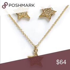 New Kate Spade Twinkle Twinkle Boxed Set in Gold! Brand New Kate Spade Earrings and Pendant set!! 🌟 🛍Bundle and save 💰 kate spade Jewelry