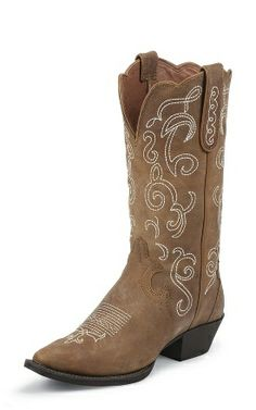 MINE. I NEED THESE!!! NEED I SAY!   Justin Boots Western L2703 TAN PUMA COW