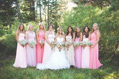 36 Ideas for vintage wedding ideas on a budget decoration bridesmaid dresses Pink Wedding Theme, Chic Wedding, Wedding Decor, Magical Wedding, Woodland Wedding, California Wedding Venues, Rustic Wedding Inspiration, Budget Wedding, Wedding Ideas