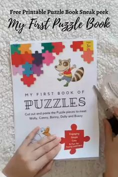 FREE Printable Puzzle Book for Kids (Easy)