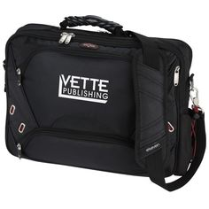 Check your cares at the door with this custom tech travel bag! Client Gifts, Embroidered Bag, Ipad Sleeve, Branded Bags, Business Branding, Travel Advice, Travel Bag, Laptop, Continents
