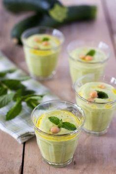 Une soupe onctueuse et fraîche, parfaite pour l'été !