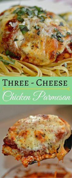 Three-Cheese Chicken Parmesan