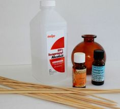 Make your own reed diffuser refill liquid