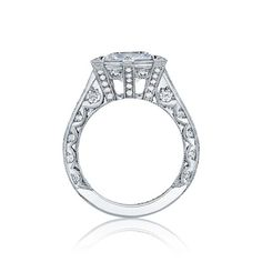 """Meet the Queen of TACORI's """"RoyalT"""" collection. She is confident, strong, and quite gorgeous."""