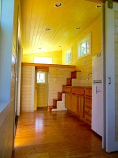 tiny house with sleeping loft