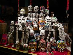 Skeletons on a Bench Skeleton Love, Uncommon Objects, Undying Love, Day Of The Dead, All Saints, Sugar Skull, Lion Sculpture, Statue, Skeletons