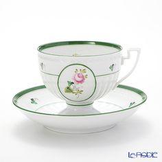 ヘレンド ウィーンのバラ 04459-0-00ティーカップ&ソーサー
