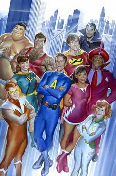 """The Awesome (for Seth Meyers) by Alex Ross * """
