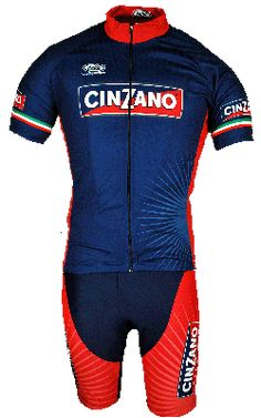 Cinzano Blue Jersey. Road Bike ClothingCycling ... 1a93849da