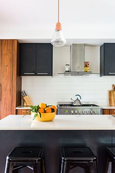 The kitchen cabinets are Metricon Homes.
