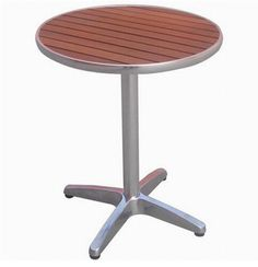 new products Aluminum outdoor furniture-Round bistro table with poly wood table top  http://enjoygroup.en.alibaba.com/product/60084749601-218367782/2013_new_products_Aluminum_outdoor_furniture_Round_bistro_table_with_poly_wood_table_top.html