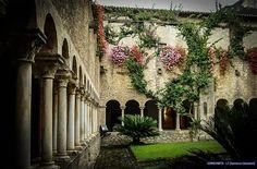 Chostro dell'abbazia del Valvisciolo Sermoneta (LT) #Lazio #Latina #Sermoneta