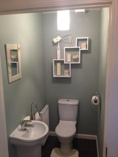 Small Toilet Room Downstairs Loo Colour