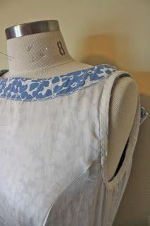 Types of lining. Gertie's New Blog for Better Sewing Varios modelos de vestidos