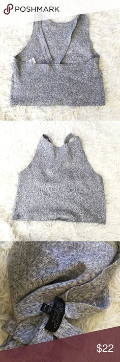 Topshop crop top Like new Topshop Tops