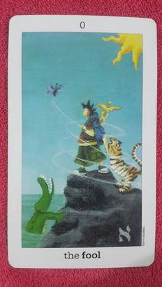 """The fool"" sun and moon tarot deck"