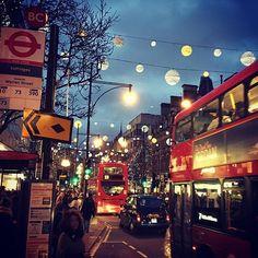Natale a #Oxford street