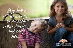 These Land O'Lakes farm family members want the best for their kids just like you do. #SimpleGoodness