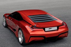 Pictures of the BMW Homage, build to celebrate the thirty year anniversary of the original BMW Supercar. BMW say the Homage is a one-off. Gta, Colani Design, Bmw Motors, Bmw M1, Bmw Concept, Cars Uk, Bmw Cars, Future Car, Car Wallpapers
