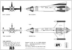 Fireball XL5 'Blueprints' published by Fanderson, I think