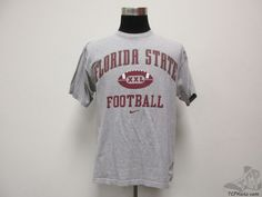 Vtg Nike Florida St State Seminoles Short Sleeve t Shirt sz M Medium University #Nike #FloridaStateSeminoles