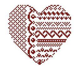 Hearts and Alphabet -- Clarissa Blackwork Cross Stitch, Counted Cross Stitch Patterns, Cross Stitch Designs, Cross Stitching, Cross Stitch Boards, Cross Stitch Heart, Graph Paper Art, Christmas Hearts, Crochet Chart