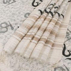 Khoj Handprinted Maheshwari Silk Saree with Om Motifs 10002452 - AVISHYA