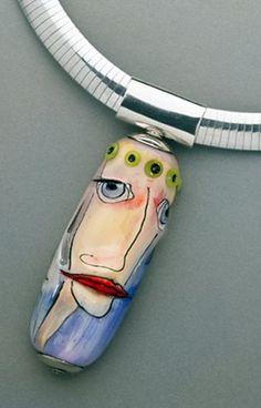 Glass artist Bronwen Heilman