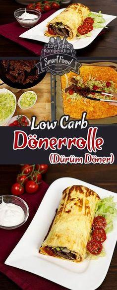 Dönerrolle Low-Carb - Heute haben wir ein Low-Carb Rezept, dass zwar etwas mehr Aufwand benötigt aber dafür ein echter Gaumenschmaus ist. Die Dönerrolle Low-Carb auch bekannt als Dürüm Döner ist wirklich fantastisch!