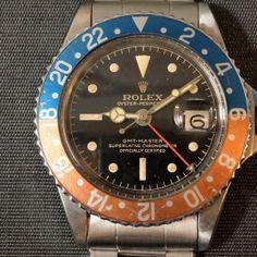 ロレックス GMTマスター Ref-1675MM PCG