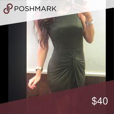 Olive dress Hot Dresses Mini