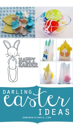 Love all these Easter ideas!