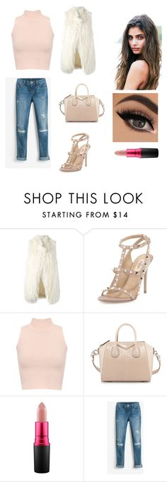 """#64"" by ginger-01 on Polyvore featuring Mode, DKNY, Valentino, WearAll, Givenchy, MAC Cosmetics und White House Black Market"