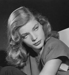 The Beauty Of Lauren Bacall : Photo