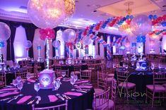 Hot Pink & Royal Blue Bnai Mitzvah