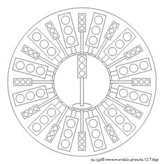 Series free mandala templates to print off and colour in. Geometric Mandala, Mandala Pattern, World Of Color, Printable Coloring Pages, Adult Coloring, Art Lessons, All The Colors, Worksheets, Transportation