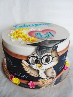 Goodbye cake by Veronika