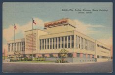 Postcards - United States #  903 - The Dallas Morning News Building, Dallas, Texas