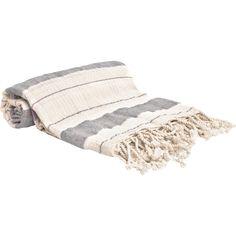 Beachcrest Home Sandburg Peshtemal Turkish Cotton Beach Towel Color: Gray Turkish Bath Towels, Turkish Cotton Towels, Turkish Fashion, Turkish Style, Fingertip Towels, Hand Towel Sets, Decorative Towels, Cotton Blankets, Houses
