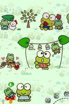 Gambar Keroppi Untuk Wallpaper Wa 30 Gambar Keroppi Terbaik Kartun Wallpaper Lucu Wallpaper Ponsel