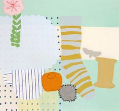 Illustrations for Selvedge | Maxine Sutton