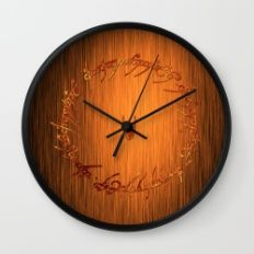 Ring of Fire Wall Clock