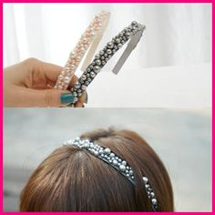45SEVEN  Beaded Hair Band