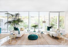 Kelly Oxford's Palm Springs-Inspired Paradise - @Homepolish Los Angeles