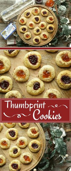 Our holiday thumbprint cookies are full of buttery, nutty flavor and can be topped with any flavor preserve!