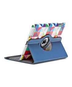 Protect a new iPad from dirt and smudges with this convenient case. This tech essential provides 360 degrees of rotation for landscape- and portrait-viewing positions. It's perfect for making an iPad look stylish while also doubling as a stand for easy enjoyment at any angle.