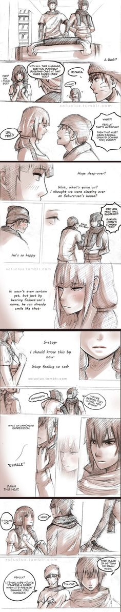 I LOVE this pairing. OTP forever!!!Sasuhina from Naruto. Stumbled upon this by xCluBearx