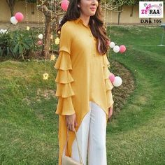Latest stylish designer full sleeves designs for kurti You can try with kurtis, kurtas, salwar kameez, anarkali suits also. Full Sleeves Design, Kurti Sleeves Design, Sleeves Designs For Dresses, Kurta Neck Design, Sleeve Designs For Kurtis, Kurta Designs Women, Blouse Designs, Latest Kurti Designs, Latest Top Designs